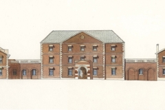 David Wardman, Female Orphan School, watercolour
