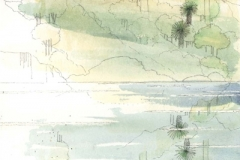 David Wardman, Tarrangaua, Pittwater, watercolour