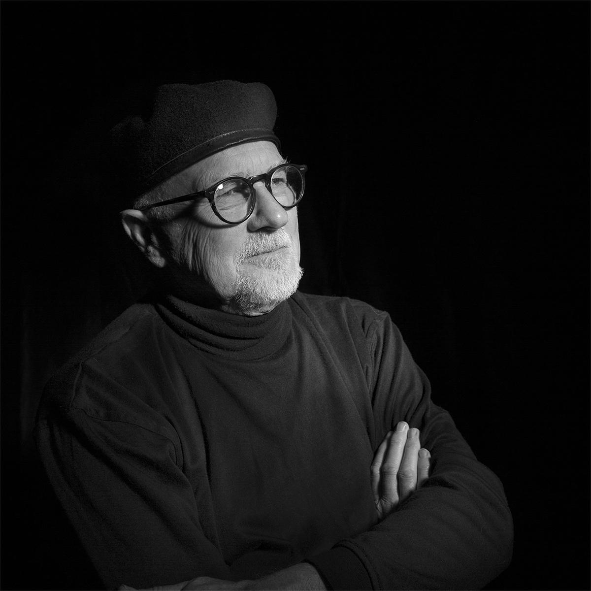 Photograph by Tracy Ponich: Portrait of Artist David Wardman